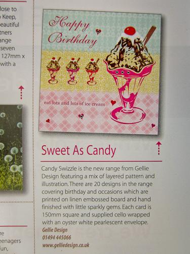 Candy Swizzle Birthday Sundae