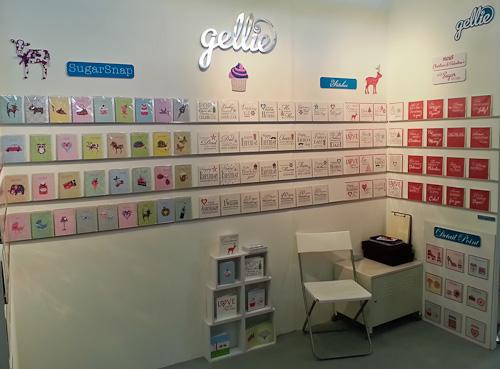 Gellie Design Top Drawer Autumn 2013 Stand